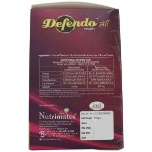 Defendo All Protein Powder Left side