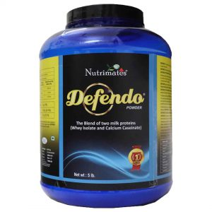 Defendo Pure Whey Protein Isolate Powder – 5 lbs
