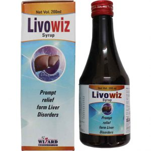 LIVOWIZ Syrup (pack of 2 bottles)